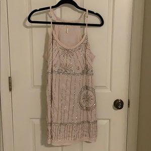 Free People Sequin Slip Dress